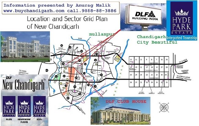 dlf hyde park plots new chandigarh mullanpur location and facilities