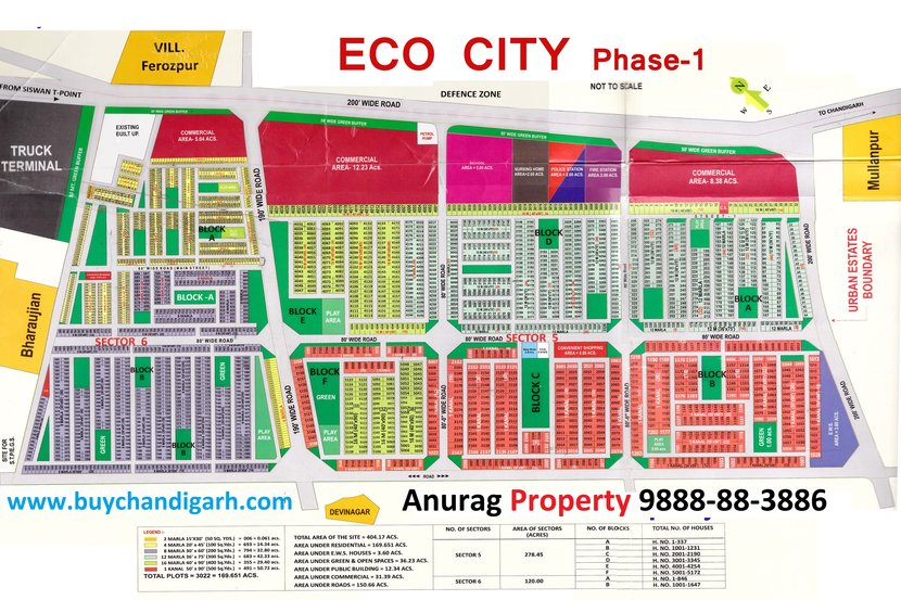 gmada eco city phase 1 full layout plan